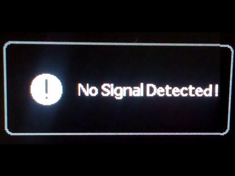 No signal detected