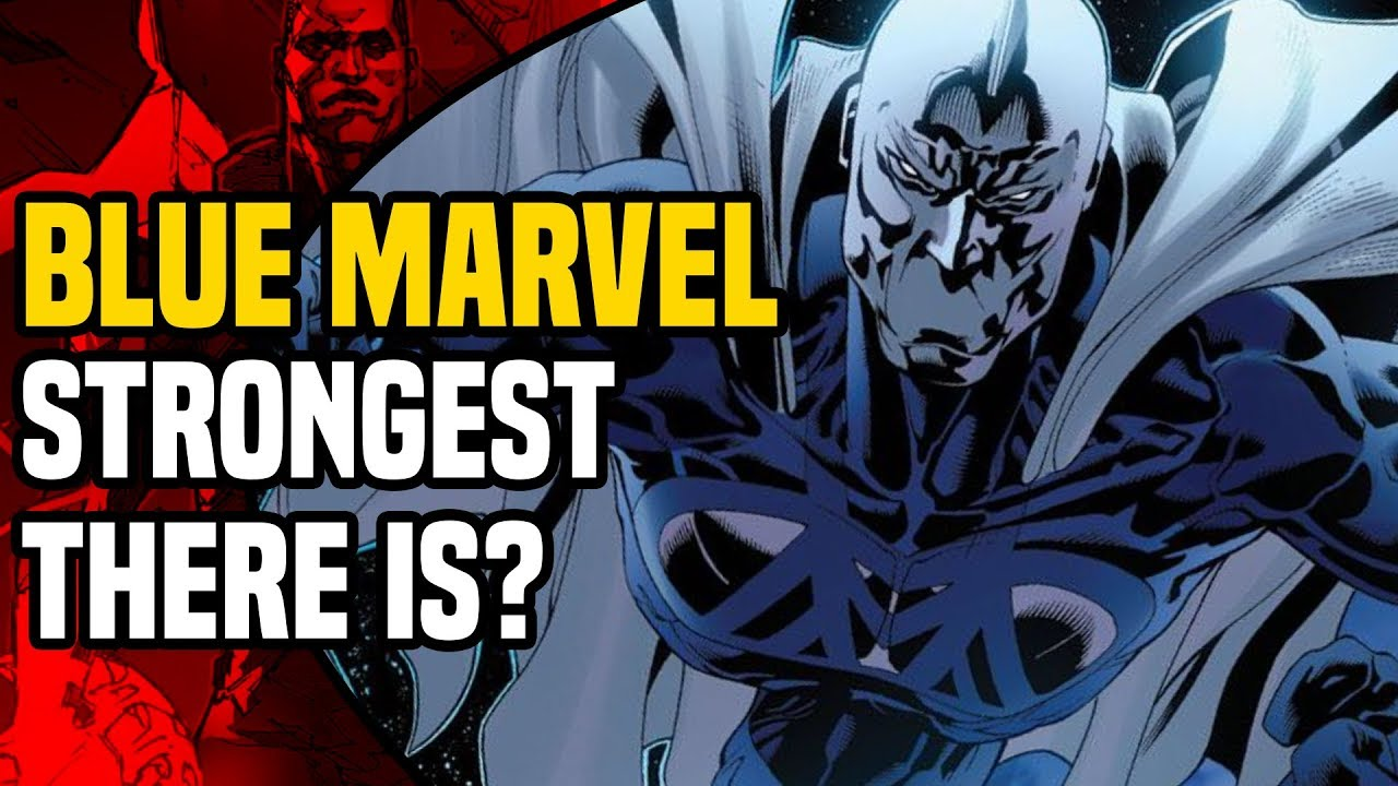 blue marvel does science prove that he is stronger than the hulk