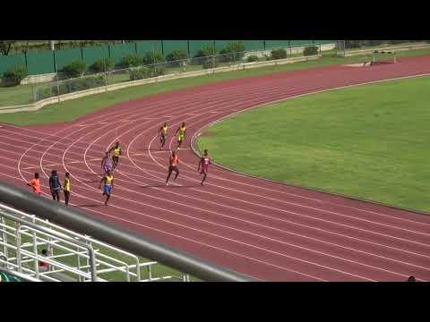 Tyrone Barnes 200m Heat @ Western Champs 2018