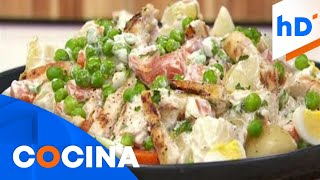 Receta de ensalada rusa, un plato fuerte que puedes hacer por solo 4.29 dólares