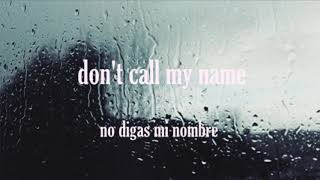 Skinshape - don't call my name ~ Lyrics ~ Subtitulada en espa?ol