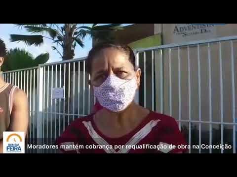 Moradores cobram requalificação de obra na Conceição