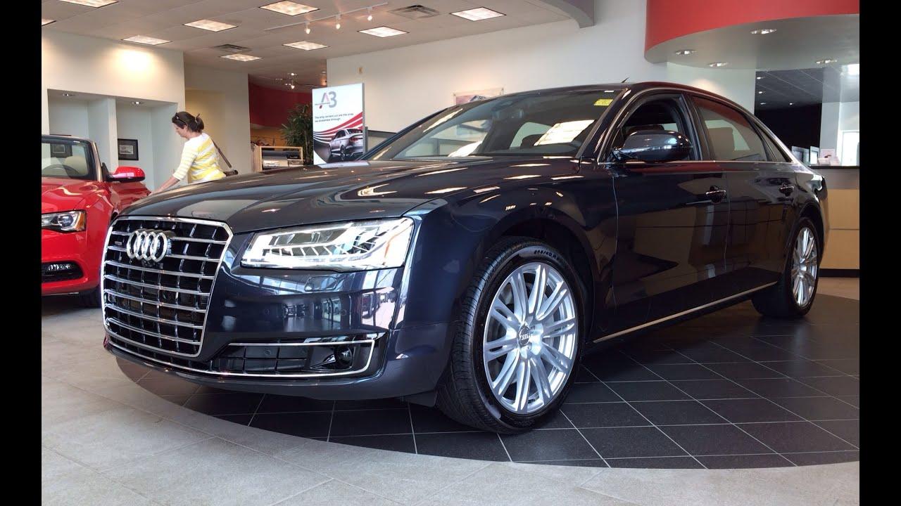 2015 Audi A8 L 4.0T Quattro Tiptronic Exterior & Interior In Depth