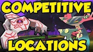 BEST COMPETITIVE POKEMON LOCATIONS In Pokemon Sword and Shield - Rare Pokemon Location Guide