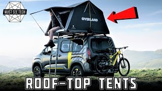 8 New Roof Top Tents and Lightweight Camping Inventions You Can Afford