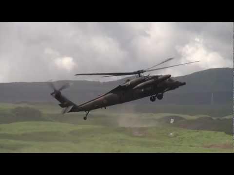 JGSDF Mt. Fuji Exercise and Training 2012