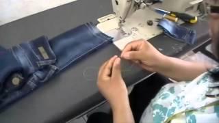 Como hacer el Dobladillo para pantalón de mezclilla (jeans). -Arregla tu Ropa 01-