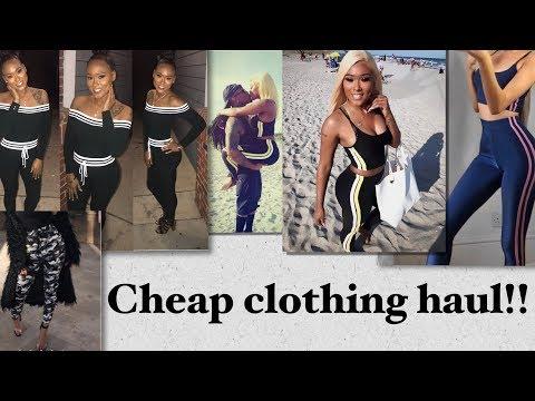 Cheap clothing haul