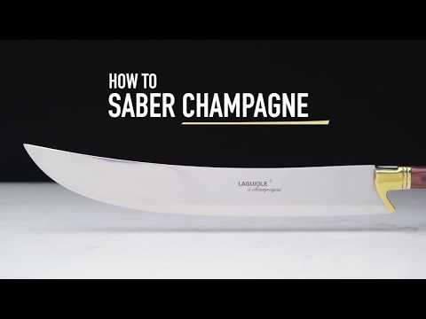How to Saber Champagne Safely and Easily