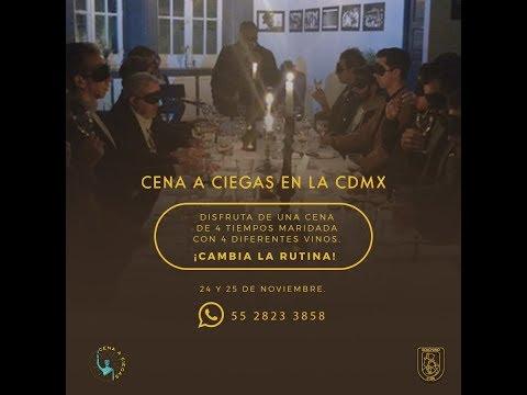 Entrevista The Blind Dinner Experience, Cena a Ciegas en RadioMojarra