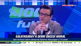 % 100 Futbol Galatasaray - Aytemiz Alanyaspor 25 Kasım 2017