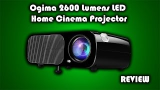 Ogima 2600 Lumens LED Home Cinema Projector Review