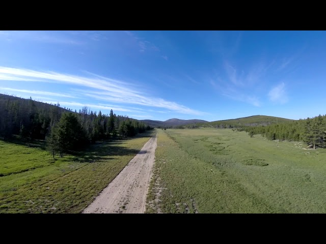 Cold Meadows Takeoff Wing