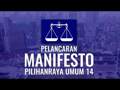 Pelancaran Manifesto Barisan Nasional