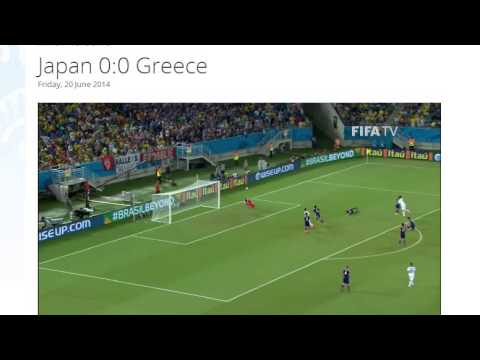Japan 0-0 Greece All Goals & Highlights HD ( FIFA World Cup Brasil 2014)