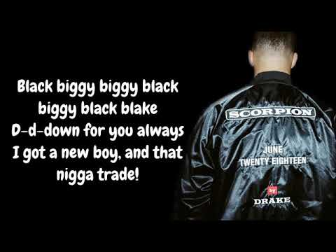 Drake - In My Feelings / Kiki Do You Love Me With Lyrics /Scorpion