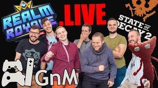 GnM Live #555 - REALM ROYALE - pogromca Fortnite?!