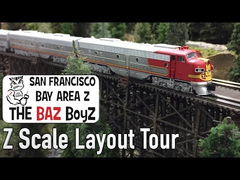 The Baz Boyz Z Scale Layout Tour DCC