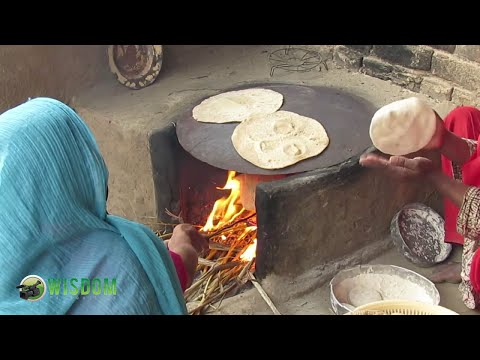Learn how to make Bread called Chapati or Roti in Punjabi Language in India and Pakistan