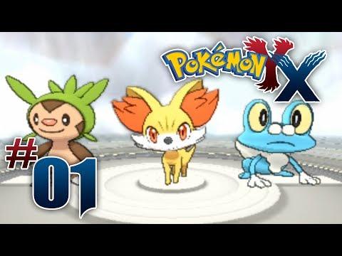 Let's Play Pokemon: X - Part 1 - A new horizon!!