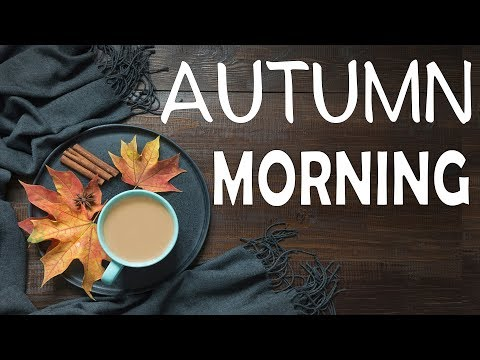 🍁 Autumn Morning Jazz Radio - Cozy Cafe Music - Smooth Radio 24/7