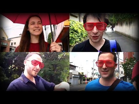 JJ surprise trip (Part 1) - road to the station ft. Polina & Kappa