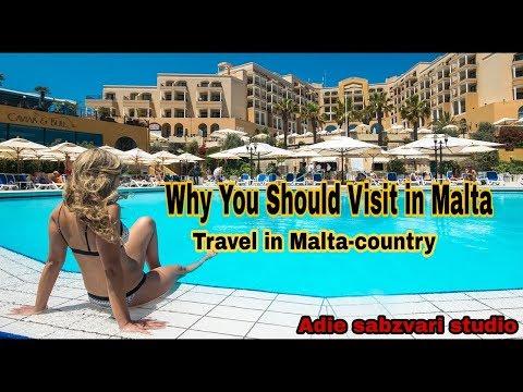 Travel in Malta-country #Vlog1 || Adie sabzvari studio