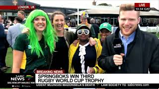 RWC Final | South Africans in London mark Bok's triumph