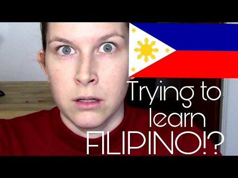 TRYING TO LEARN FILIPINO