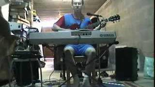 Highway To Hell  Steackmike One Man Band Cover  (Sing,Guitar With A Bass Sound,Drum Foot Technic)
