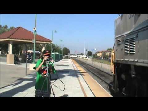 Metrolink rush hour in Fontana 6 3 13