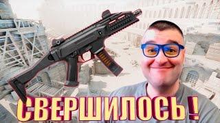 ВАНШОТНЫЙ CZ Scorpion Evo3 A1☛WARFACE...