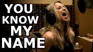 You Know My Name - Gabriela Gunčíková - Chris Cornell cover - Ken Tamplin Vocal Academy