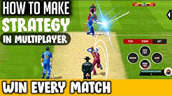 🔥 Real cricket 20 ! Batting , Bowling tips for Multiplayer Matches !!