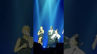 Celine Dion in New Zealand 2018, Medley of songs