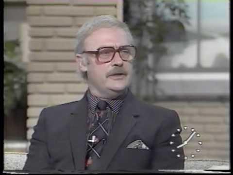 Edward Woodward on TV-am in 1983