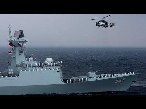 Arrancan ejercicios conjuntos de Rusia y China en el mar Báltico