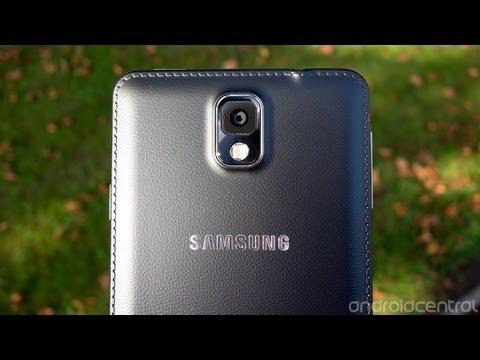 Samsung Galaxy Note 3 video walkthrough