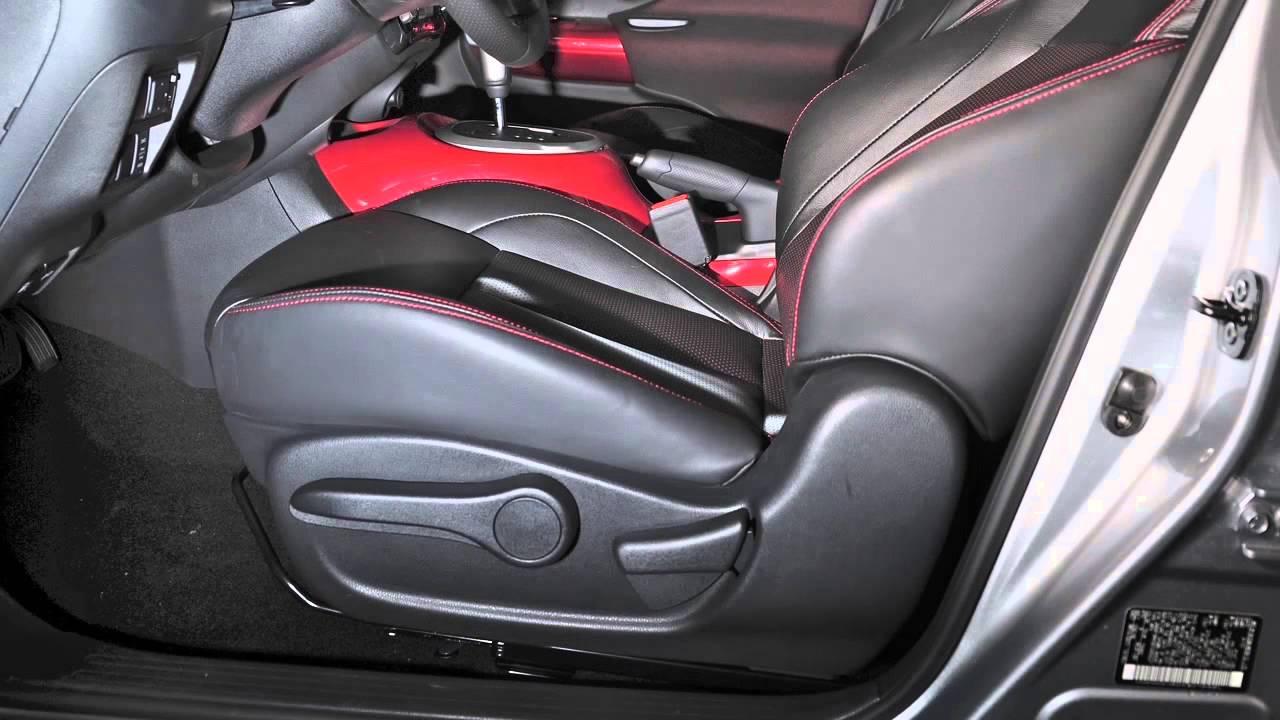 2017 Nissan Juke Seat Adjustments