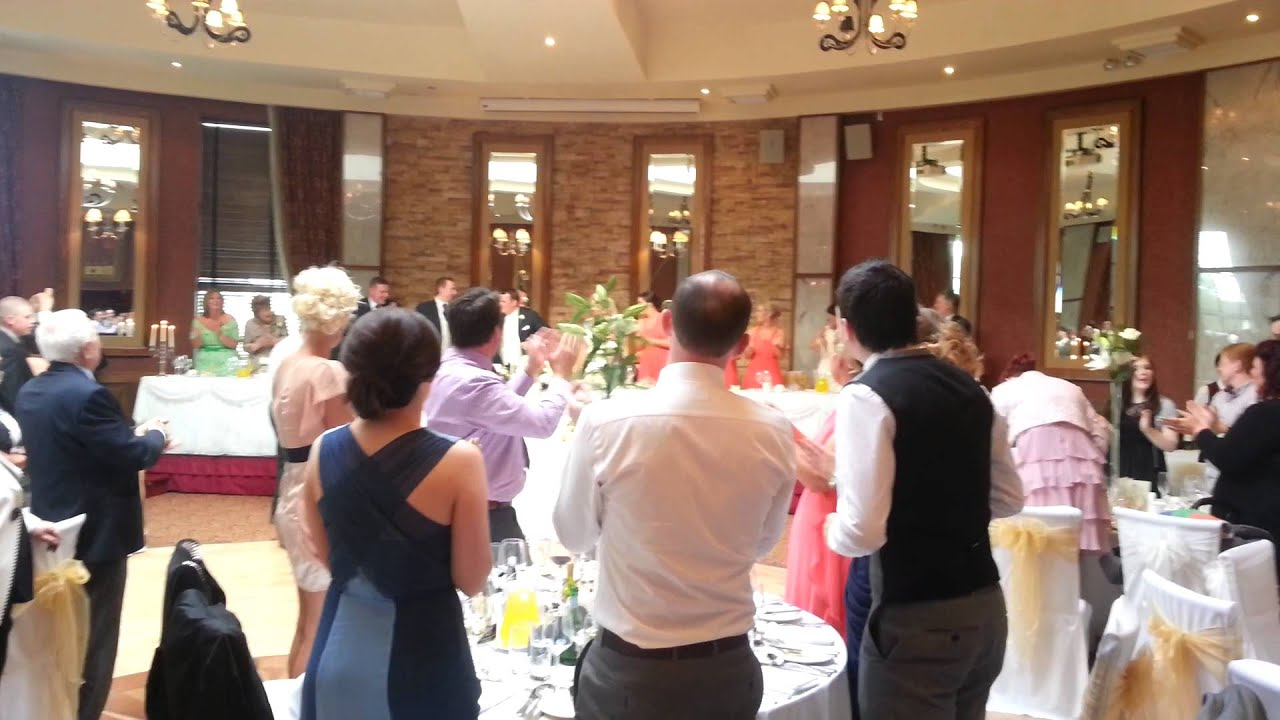 Joe Evas Wedding 31st May 2013 Entrance Song Youtube