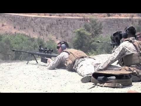 .50 Cal Sniper Rifle M107