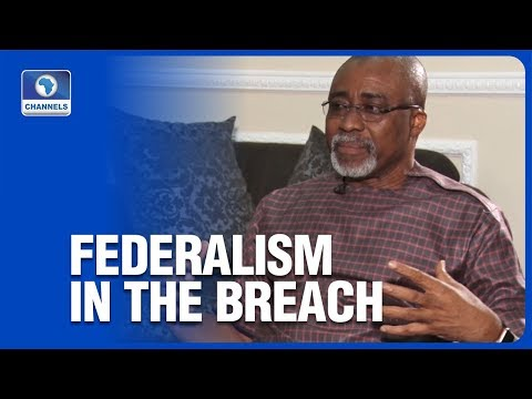 Nigeria Observing Federalism In The Breach, Abaribe Says