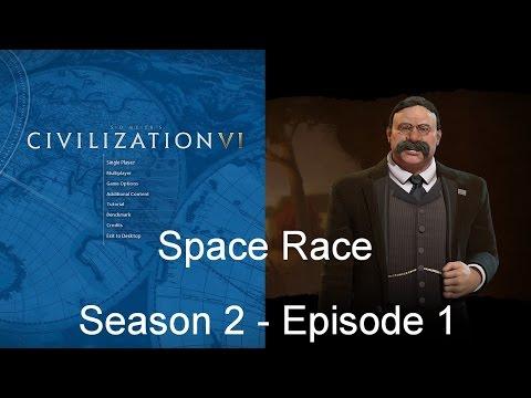 Civilization 6: Space Race - Season 2 Episode 1
