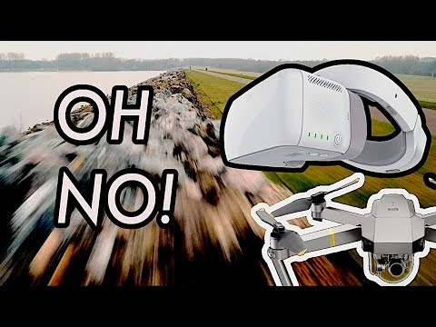 DJI Goggles & Mavic crash