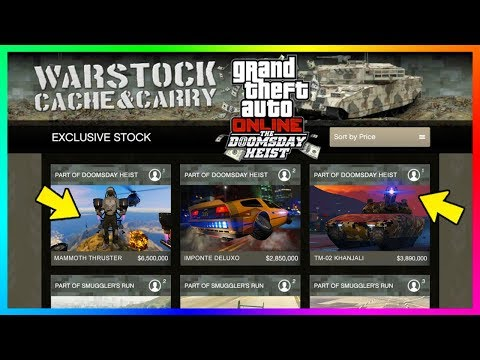 GTA Online Doomsday Heist $100,000,000 Spending Spree - Buying All NEW Vehicles, Properties & MORE!