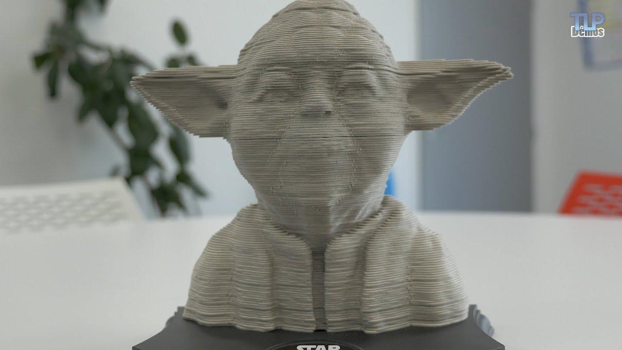Star Wars Yoda Puzzle Sculpture 3d 160 Pi 232 Ces De Educa