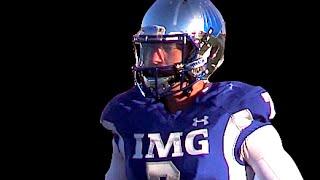 QB Shea Patterson '16 : IMG Academy ( Florida) UTR Senior Year Spotlight