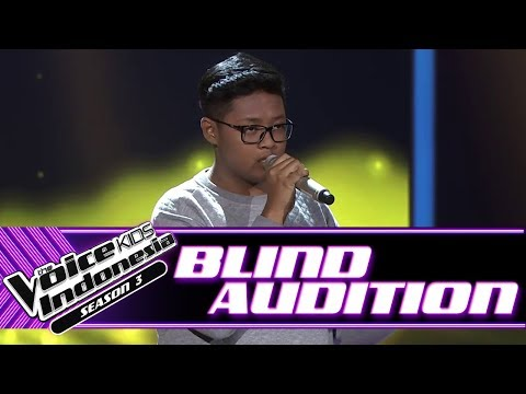 Yedija - Imagination | Blind Auditions | The Voice Kids Indonesia Season 3 GTV 2018