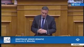 Ομιλία για το νομοσχέδιο για την Ανώτατη Εκπαίδευση