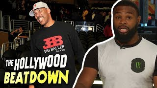 Tyron Woodley GOES OFF On Lavar Ball | The Hollywood Beatdown